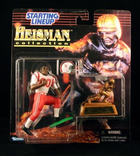 (JOHNNY RODGERS / UNIVERSITY OF NEBRASKA CORNHUSKERS * 1997 NCAA College Football HEISMAN COLLECTION Starting Lineup Action Figure, Football Helmet & Miniature 1972 Heisman Memorial)