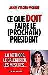 Ce que doit faire le (prochain) président par Verdier-Molinié