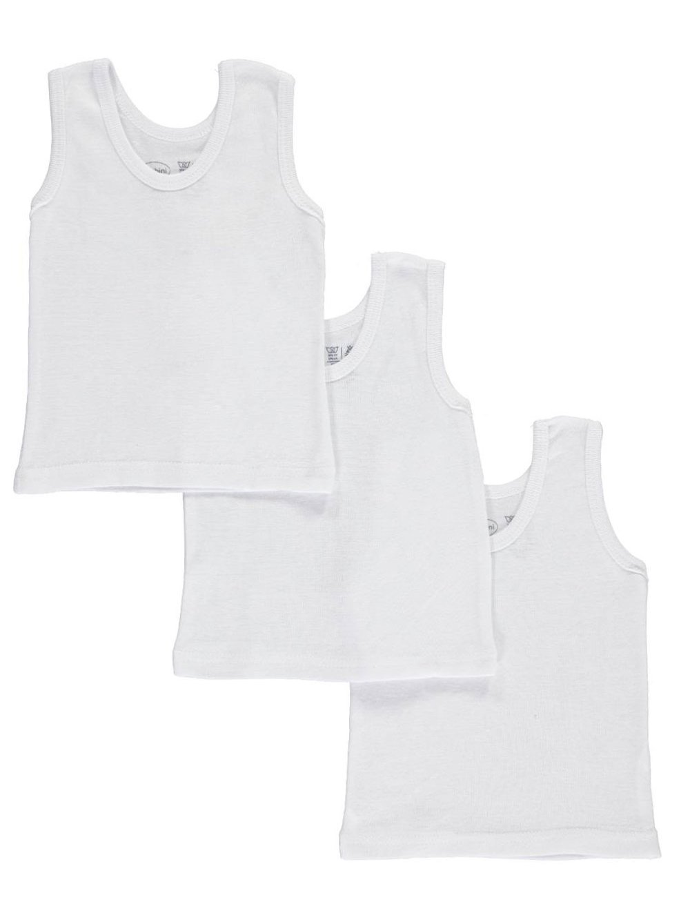 Bambini Unisex Baby 3-Pack Tank Tops