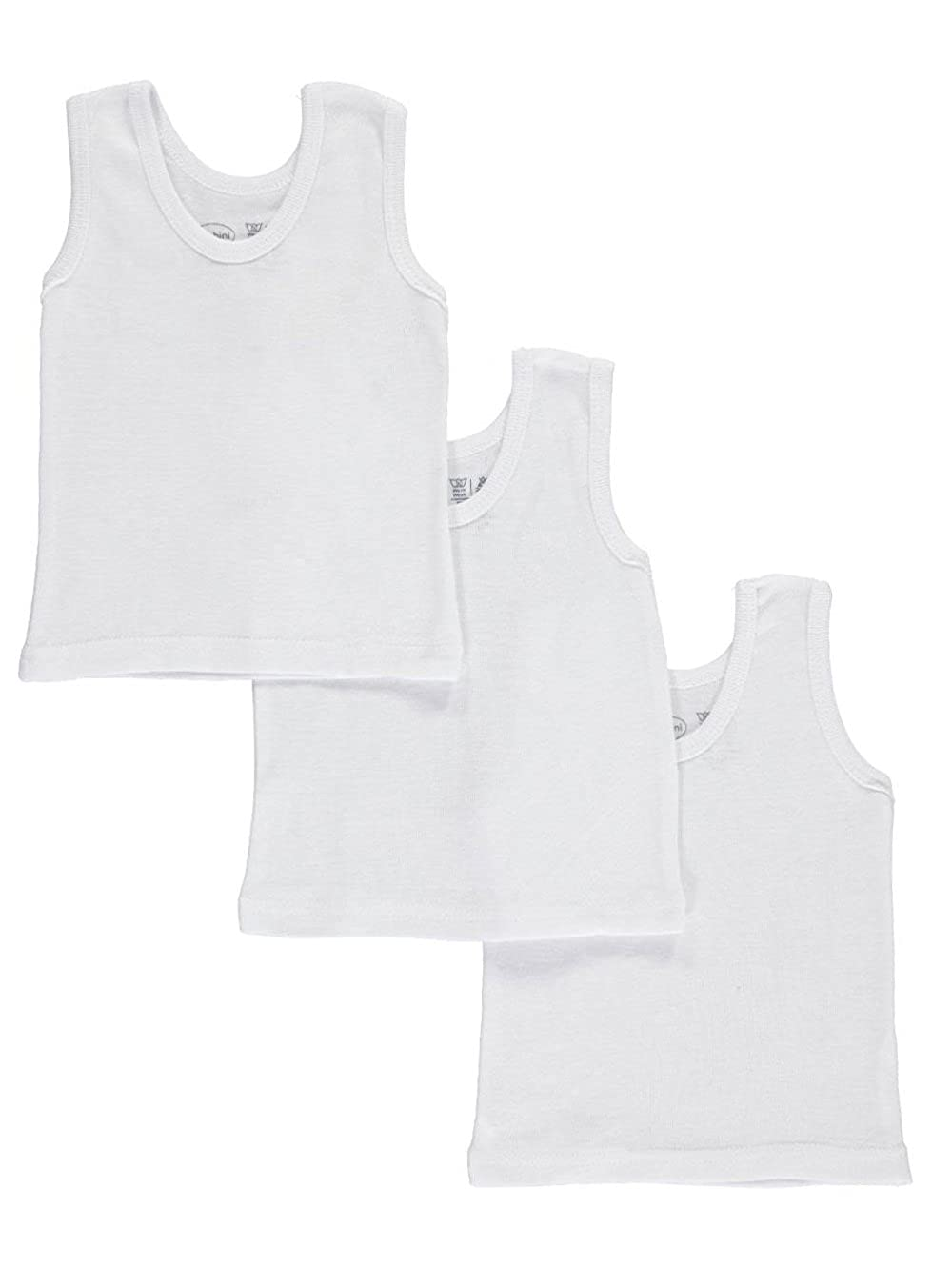 bambini Unisex Baby 3-Pack Tank Tops 6-9 Months