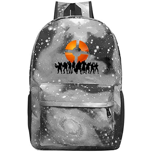 Starry Universe Game_TF_Apex Waterproof Backpack For Boy Girl School Bag Backpack Daypacks For Kids Youth Gray