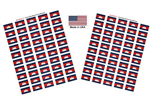 (Made in USA! 100 Country Flag 1.5