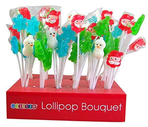Assorted Candy Lollipop Bouquet Favors, 1.7 oz, Pack of 12