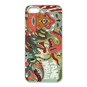 Personality customization TPU Case with Tame Impala iPhone 5 5s Cell Phone Case White