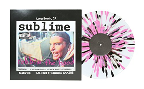 - Robbin' the Hood (Limited Edition Clear with Pink and Black Splatter Colored Vinyl)