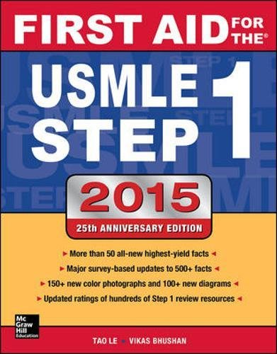 - First Aid for the USMLE Step 1 2015 (First Aid USMLE)