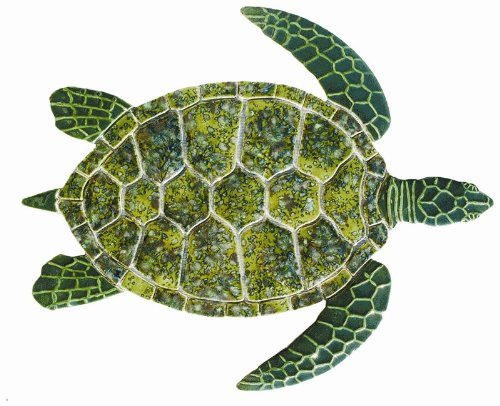 - Ceramic Green Sea Turtle Medium Mosaic