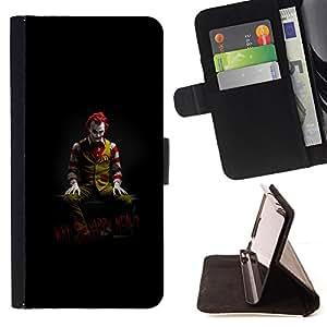 /Skull Market/ - FUNNY - JOKER - WHY SO HAPPY MEAL For LG Nexus 5 D820 D821 - Caja de la carpeta del tir???¡¯???€????€????????&c
