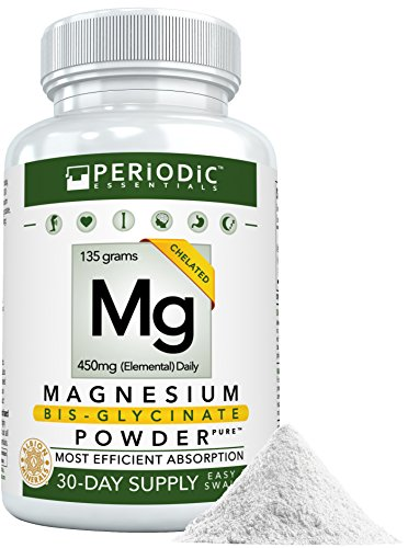 Pure Magnesium Bisglycinate POWDER • For Purists Only • Harvard Studied Absorption • Chelated Supplement for Mg • Non-Laxative/Buffered • No Big Pills, Fillers, Sugars, nor Added Flavor