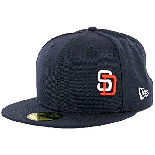 """New Era 59Fifty San Diego Padres """"Flawless Gwynn"""" Fitted Hat (Dark Navy) Cap"""