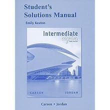 Student Solutions Manual for Intermediate Algebra (Paperback)