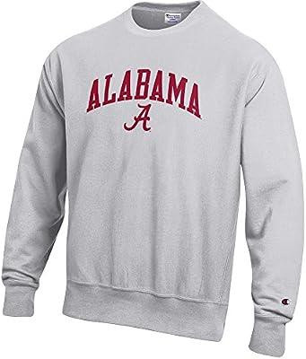79e872d81df4 Elite Fan Shop Alabama Crimson Tide Reverse Weave Crewneck Sweatshirt Gray  - M