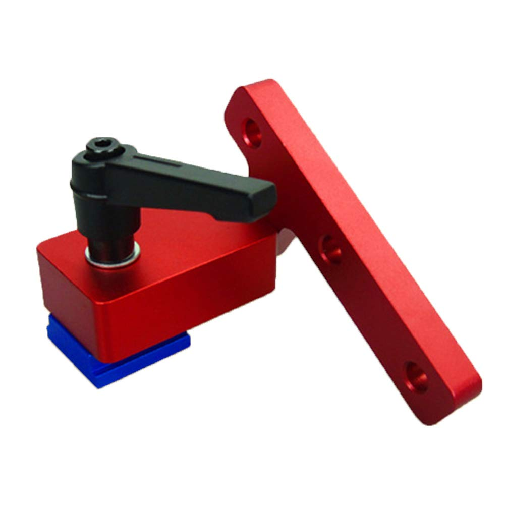 Mitre Track Stop 30 mm//45 mm Miter T-Slot Tracks de carpinter/ía DIY Manual herramientas Miter Protector Quick Handle Kit para T-Slot T-Tracks