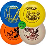Driven Disc Golf - Advanced Players Pack (4 Disc Driver Set (Colors Vary))