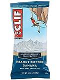 Clifbar Clif Bars – 12 Pack Peanut Butter Banana Dark Chocolate, One Size