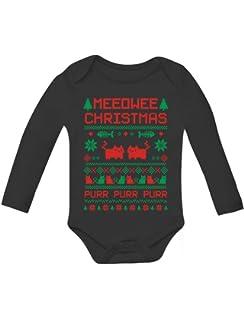 Tstars Meowie Christmas Ugly Sweater Cute Kittens Xmas Toddler//Kids Sweatshirts