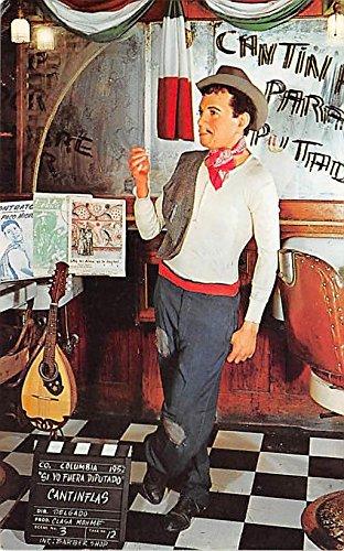 Theater Actor / Actress Old Vintage Antique Postcard Post Card, Postales, Postkaarten, Kartpostal, Cartes, Postkarte, Ansichtskarte Cantinflas at Movieland Wax Museum Buena Park, California, CA, USA Unused