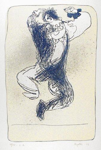 Amazon.com: Harlequin Leaping: Juan Garcia Ripolles: Fine Art