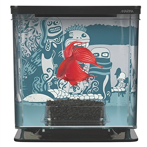 Marina Betta Aquarium Starter Kit, Wild Things by Marina B008SBE19E