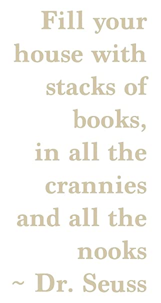 Amazon.de: Dr. Seuss Buch Zitat, beige, 36\