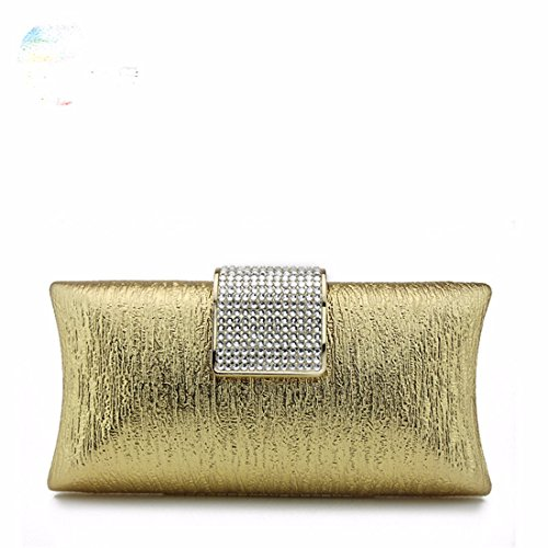 Bags Color Handbags Yellow Ladies Bags Champagne Party Diamond Handbags Party Bags Casual xgxnFYv4