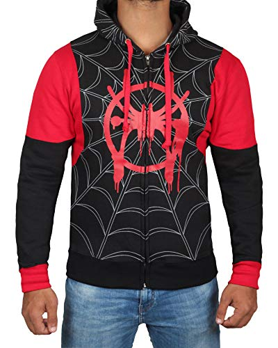 Winter Soldier Costumes Hoodie - Miracle(Tm) Spiderman Into The Spider Verse