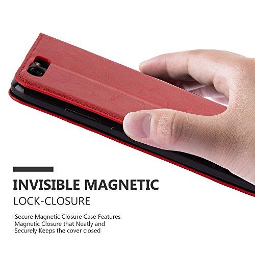 Cadorabo - Funda Book Style Cuero Sintético en Diseño Libro para >                                              Huawei P10                                              <