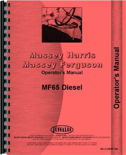 (Massey Ferguson 65 Tractor Operators Manual)