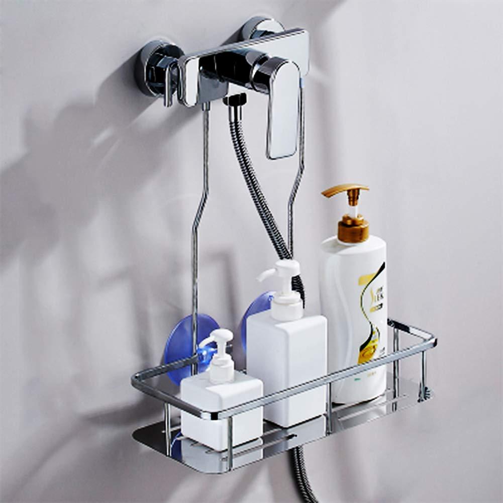 SHOW Cesto Portaoggetti da Doccia Scaffale Ripiani in 304 Inossidabile Portasapone Doccia da Appendere Accessori Bagno,Showerbasket