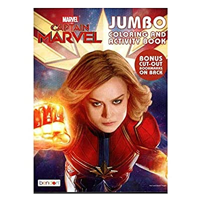 Marvel Captain Jumbo Coloring and Activity Book: Toys & Games
