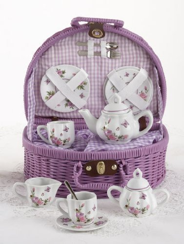 Delton Products Butterfly Tea - Set Tea Butterfly