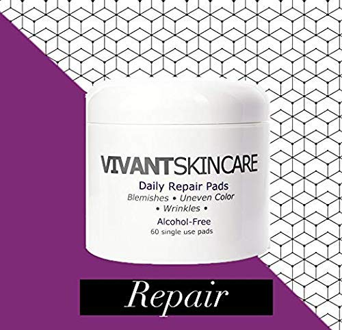 Vivant Skin Care Daily Repair Pads with 1% Mandelic Acid ()