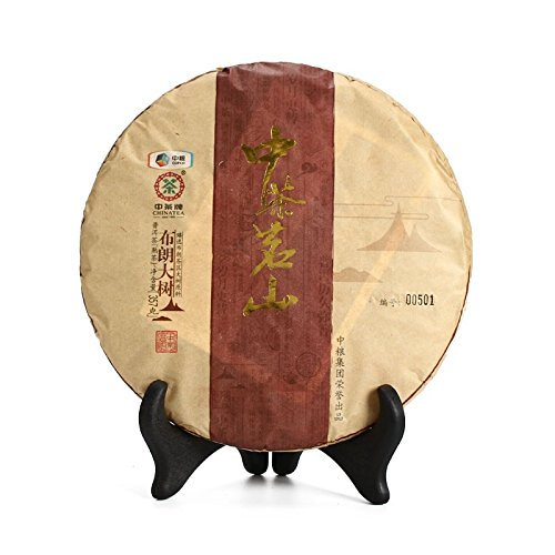 Yunnan Pu'er Tea 2016 Chinese Tea Laoshan Brown Tree Cooked Tea 357g/cake Pu'er ripe tea 云南普洱茶 2016年中茶 茗山布朗大树 熟茶 357克/饼 普洱熟茶 puerh tea puer tea by 中茶