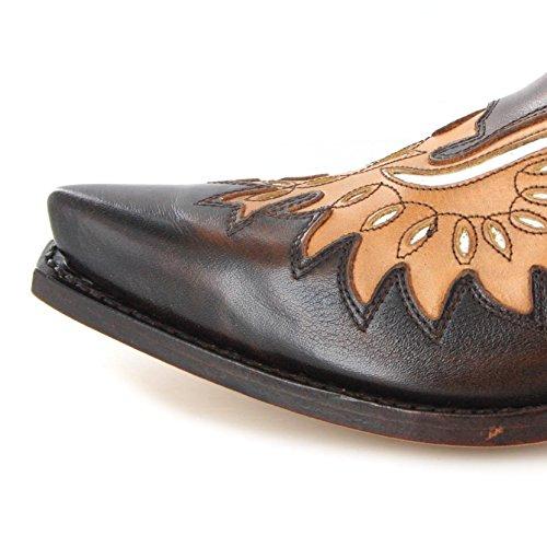 Sendra Boots , Bottes et bottines cowboy homme Marron