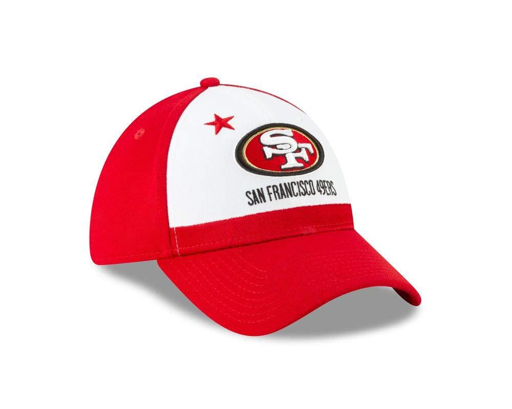 online retailer cfc7e c0d40 Amazon.com   New Era San Francisco 49ers 2019 NFL Draft On-Stage Official 39Thirty  Flex Hat   Clothing