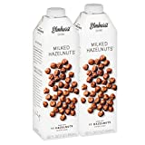 Elmhurst 2pk Milked Hazelnuts 32 oz. Creamy & Delicious Hazelnut Milk. More Nuts! More Nutrition! Gluten Free, Lactose Free, Vegan Beverage.