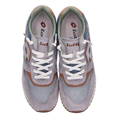 Lotto Leggenda Sneakers Uomo L4579GREY Camoscio Grigio