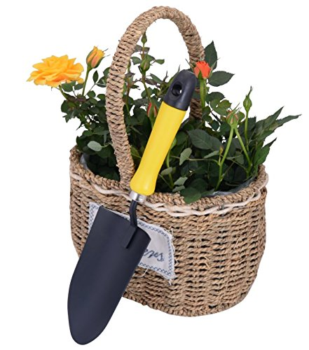 Garde tool set 3 piece ergonomic handles durable garden for Pretty garden tools set