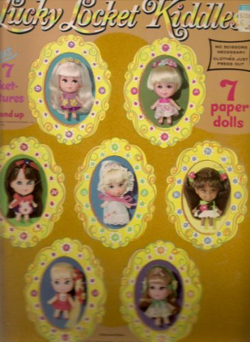 Lucky Locket Kiddles Paper Dolls