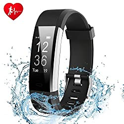 GTBonad Fitness Tracker Watch Sleep Monitor Heart Rate Monitor Activity Tracker Smart Wristband IP67 Waterproof Bluetooth Smart Bracelet Step Counter Pedometer for Android and iOS
