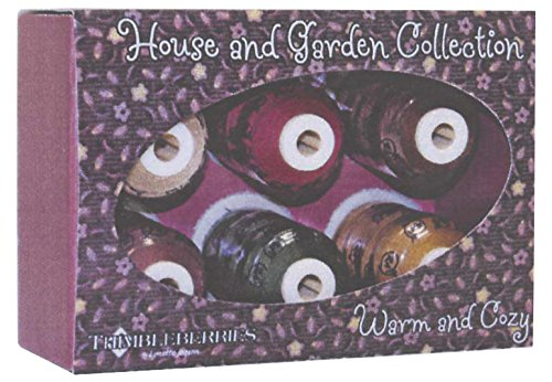 Robison-Anton Thimbleberries Cotton Thread Collections, 500-Yard, Home and Garden Warm and Cozy