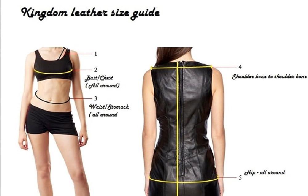 Women Lambskin Leather Jacket KLW237
