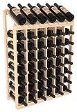 Wine Racks America Ponderosa Pine 6 Column 8 Row Display Top Kit. Unstained Review