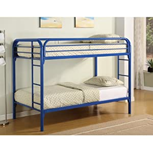 Fordham Collection Twin-Over-Twin Bunk Bed with Built-in Ladders