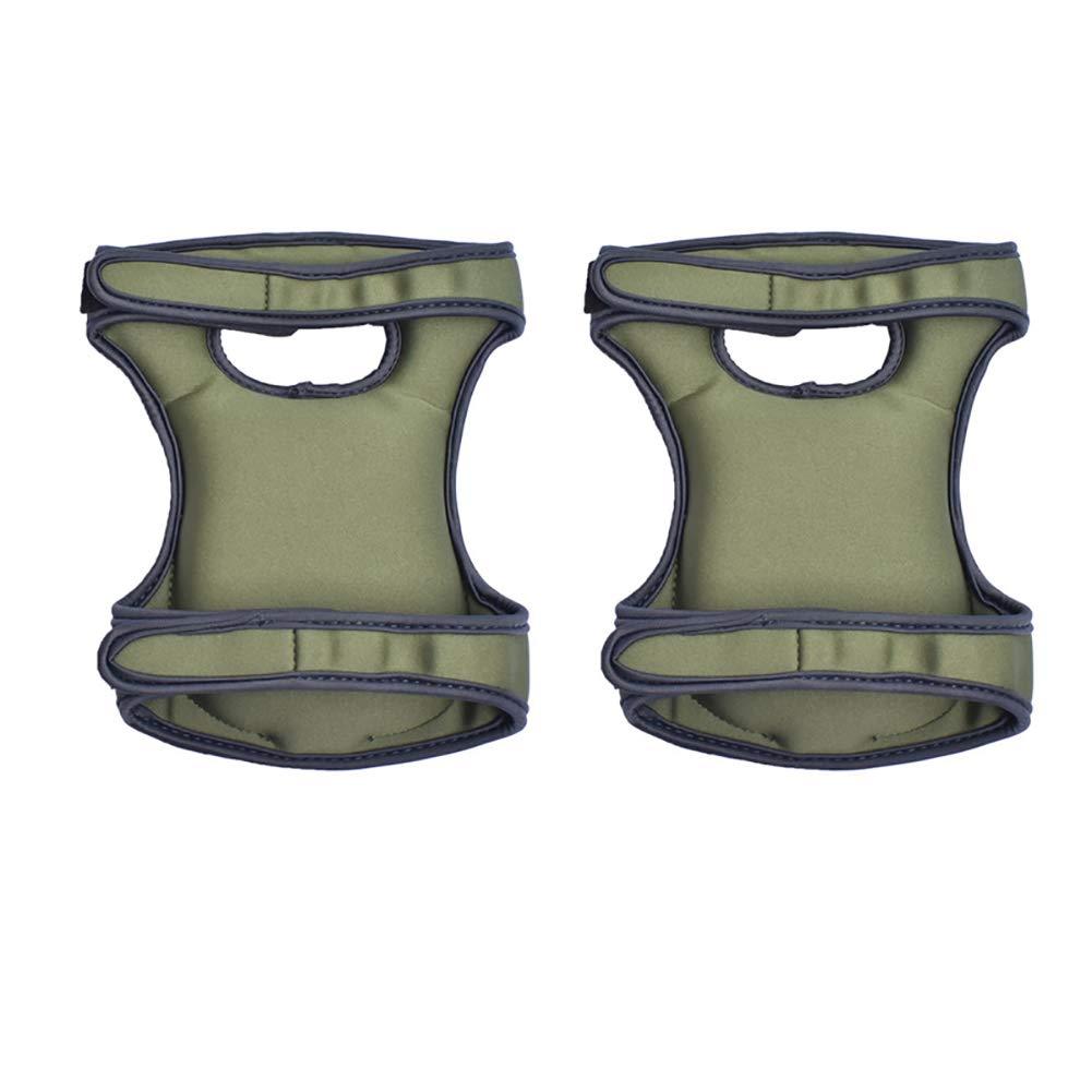 Ndier 1pair Garten Knieschützer Ultra Comfort Neopren Wasserbeständig Gartenknieschützer für den Heimgärtner |dunkelgrün Home dekor