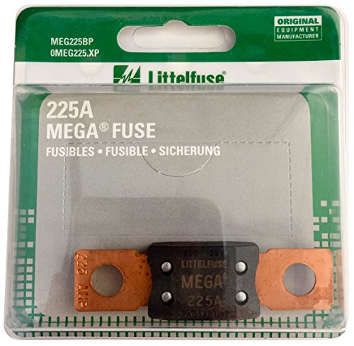 Littelfuse MEG225XP MEGA Slo-Blo Automotive Bolt-Down Fuse (Bolt Automotive Blo Down Fuse)