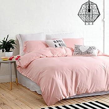 Elegant Baby Pink Bed Sheets