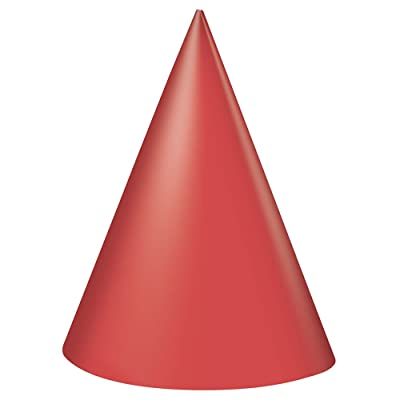 Red Party Hats, 8ct: Kitchen & Dining
