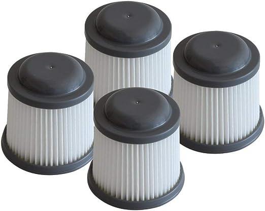Mumaxun - Juego de 4 filtros de Repuesto para aspiradora Black ...
