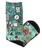 Prestige Medical  Premium Compression Socks, Medical World, 12 Inch, 2 Count